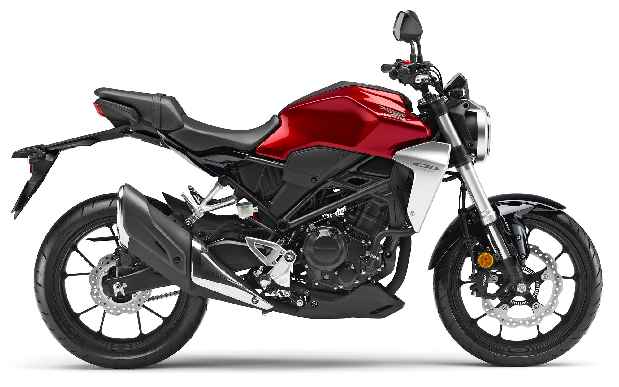 2019 Honda CB300R Red
