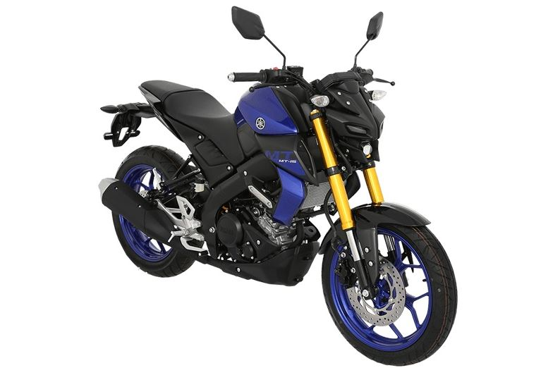 Yamaha MT15 blue