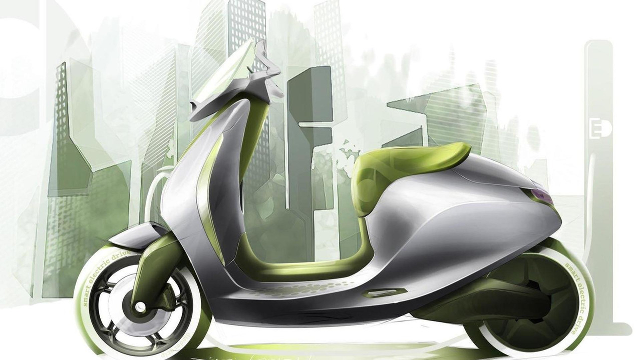 smart electric scooter concept