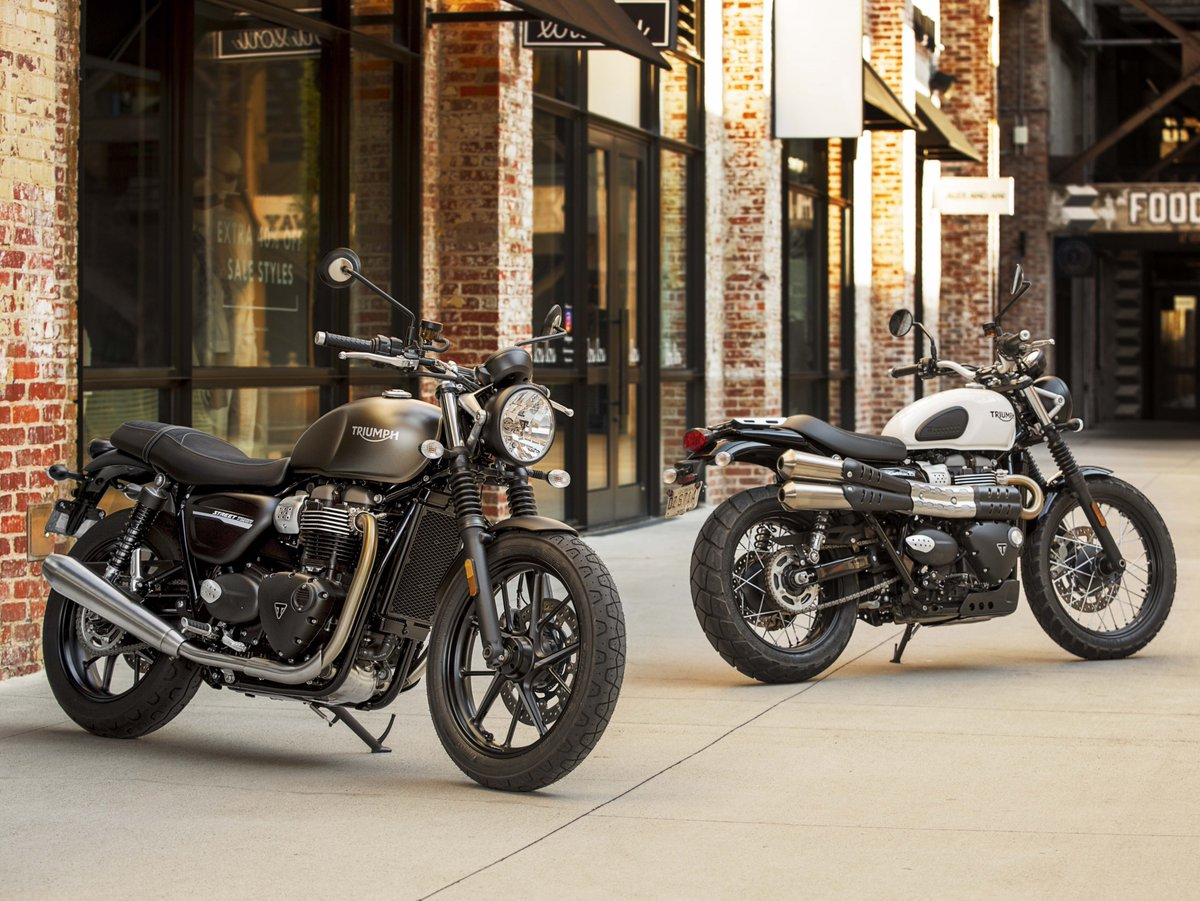2019 Triumph Street Twin and scrambler launched