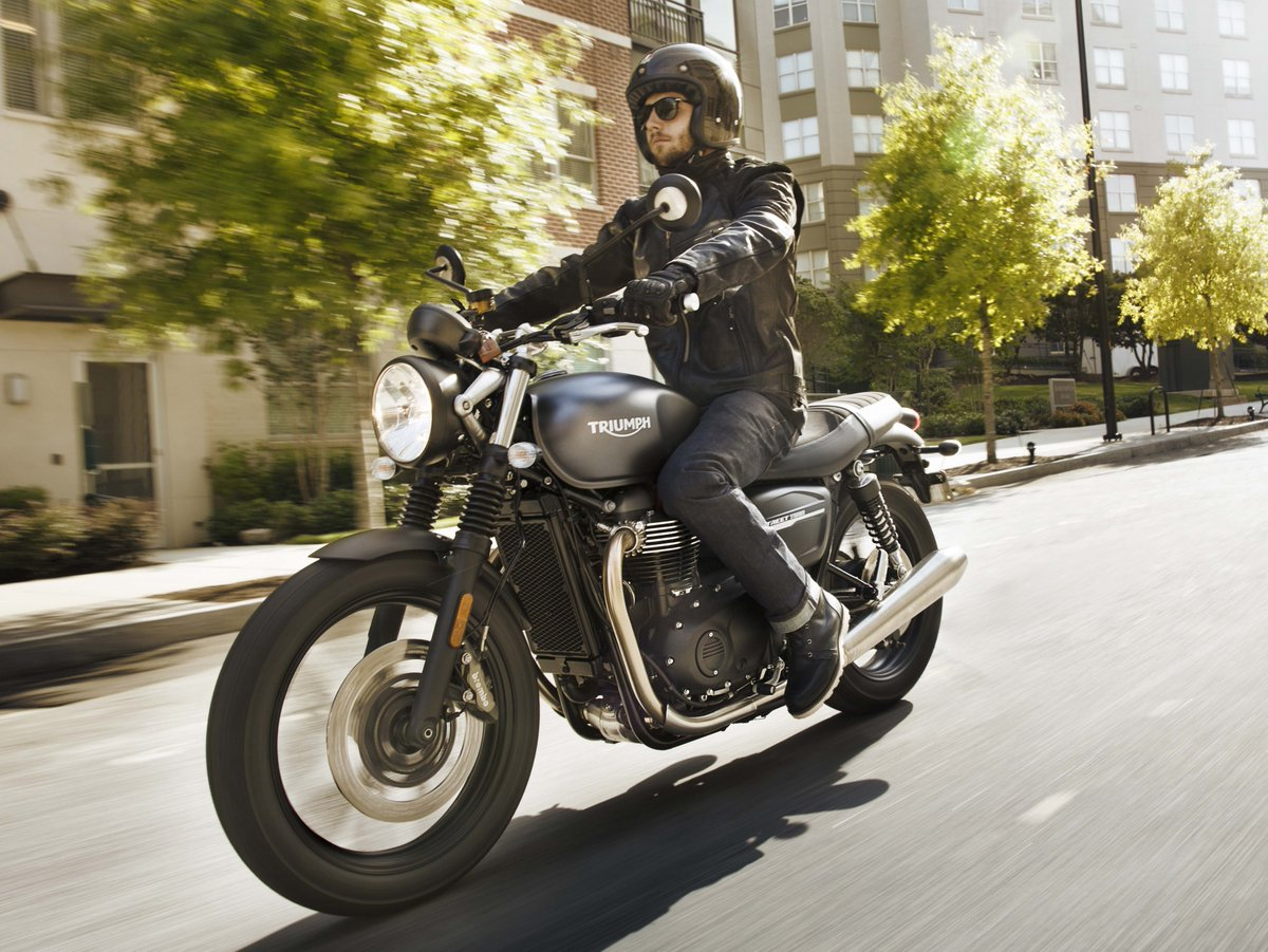 2019 Triumph Street Twin bike