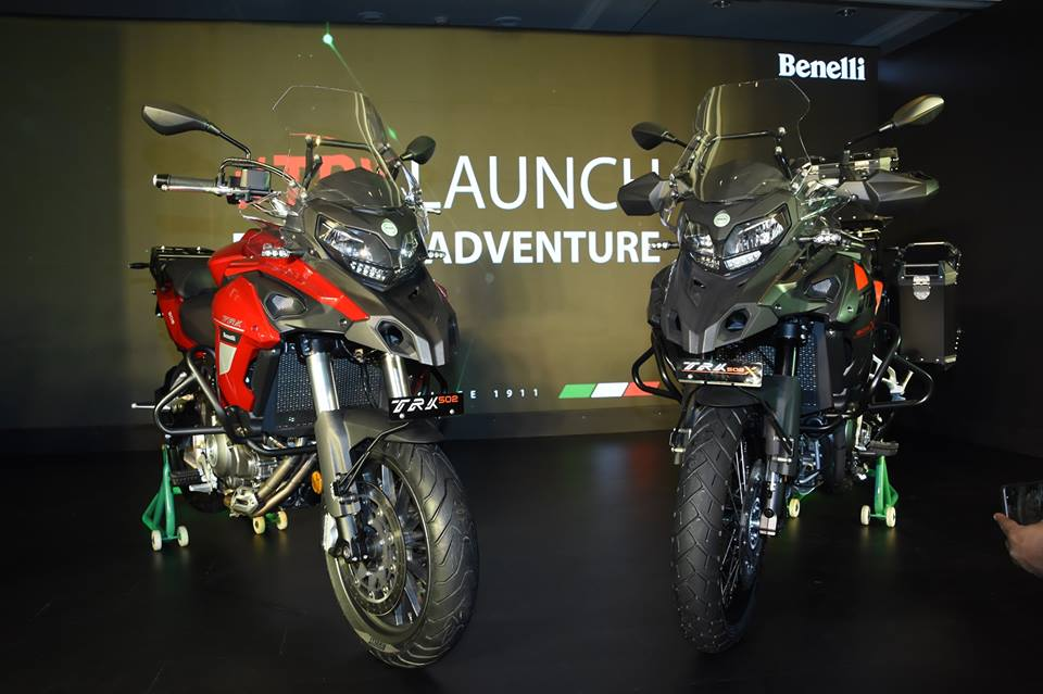 Benelli TRK 500 and TRK 502X bike
