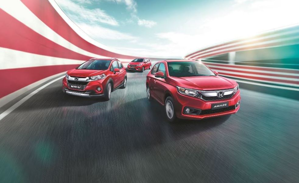 Honda jazz amaze wr v Exclusive Edition