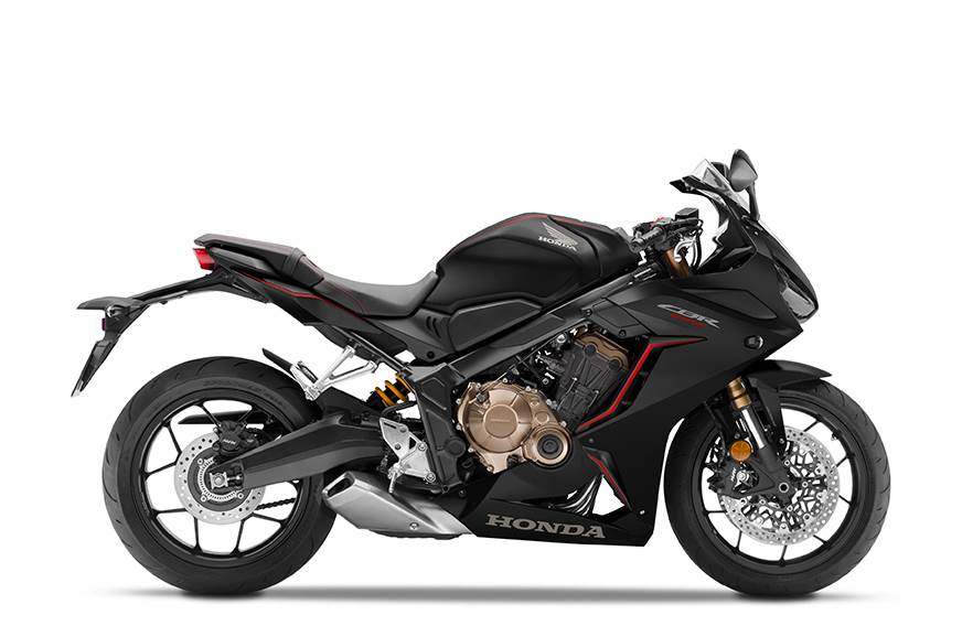 Honda CBR 650R Matte Gunpowder Black Metallic