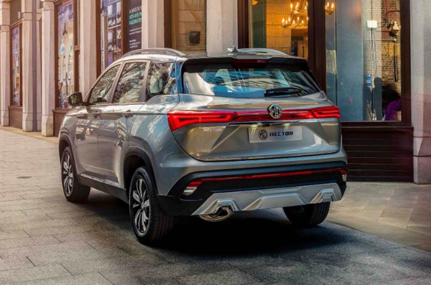 MG Hector SUV official images