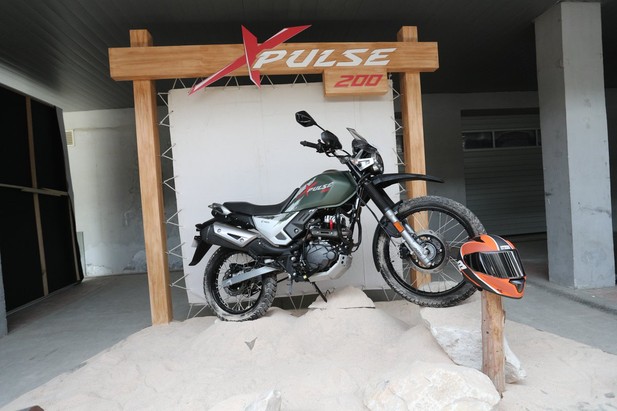 hero xpulse 200 adv bike