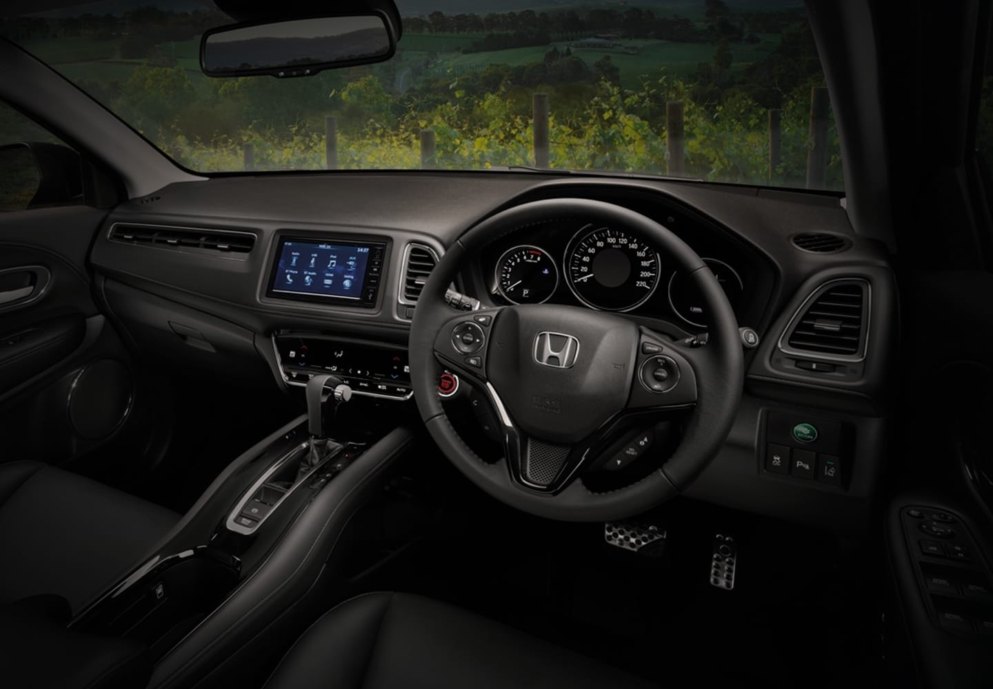 honda hr v interior