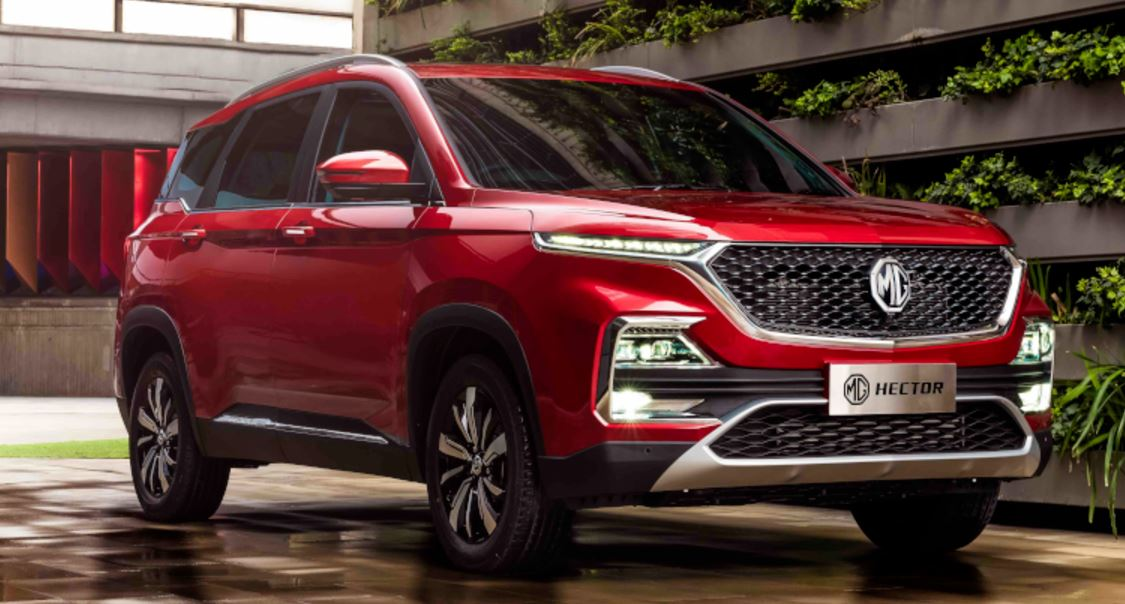 mg hector suv news in tamil