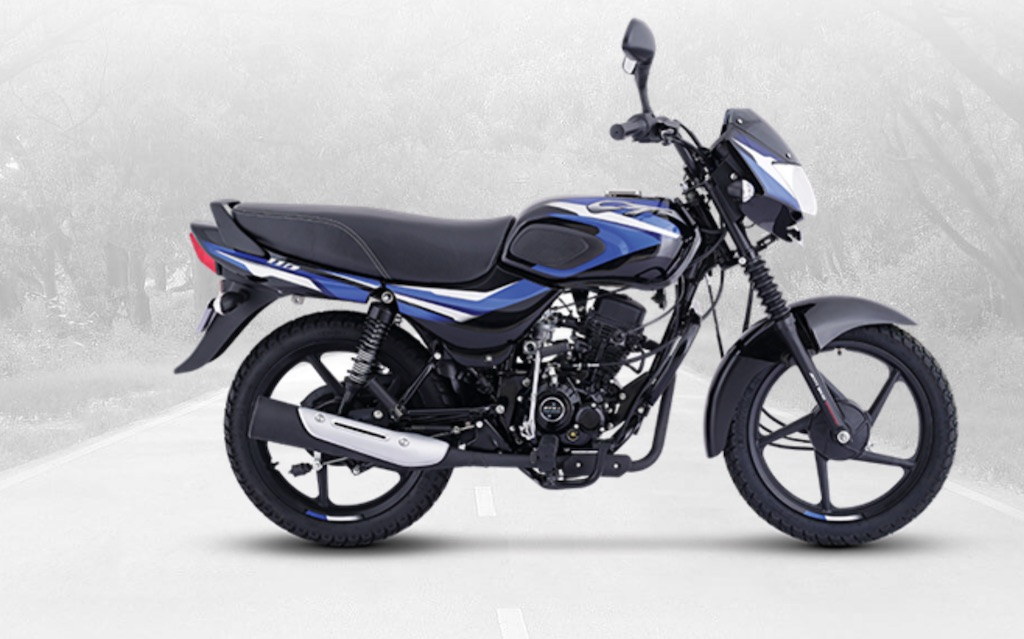 Bajaj CT 110 Blue