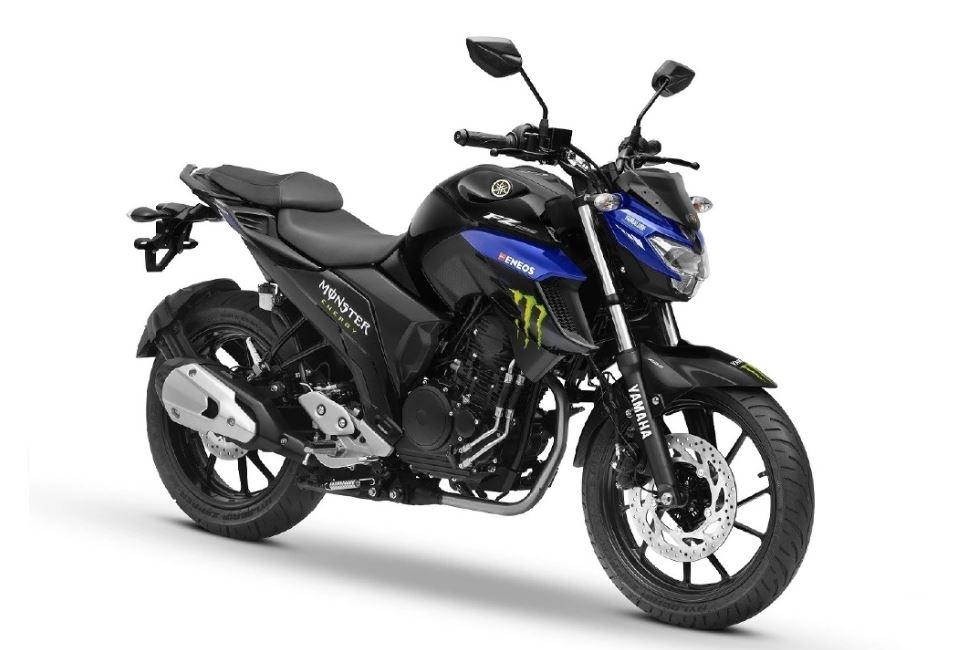 Yamaha FZ-25 Monster energy MotoGP edition