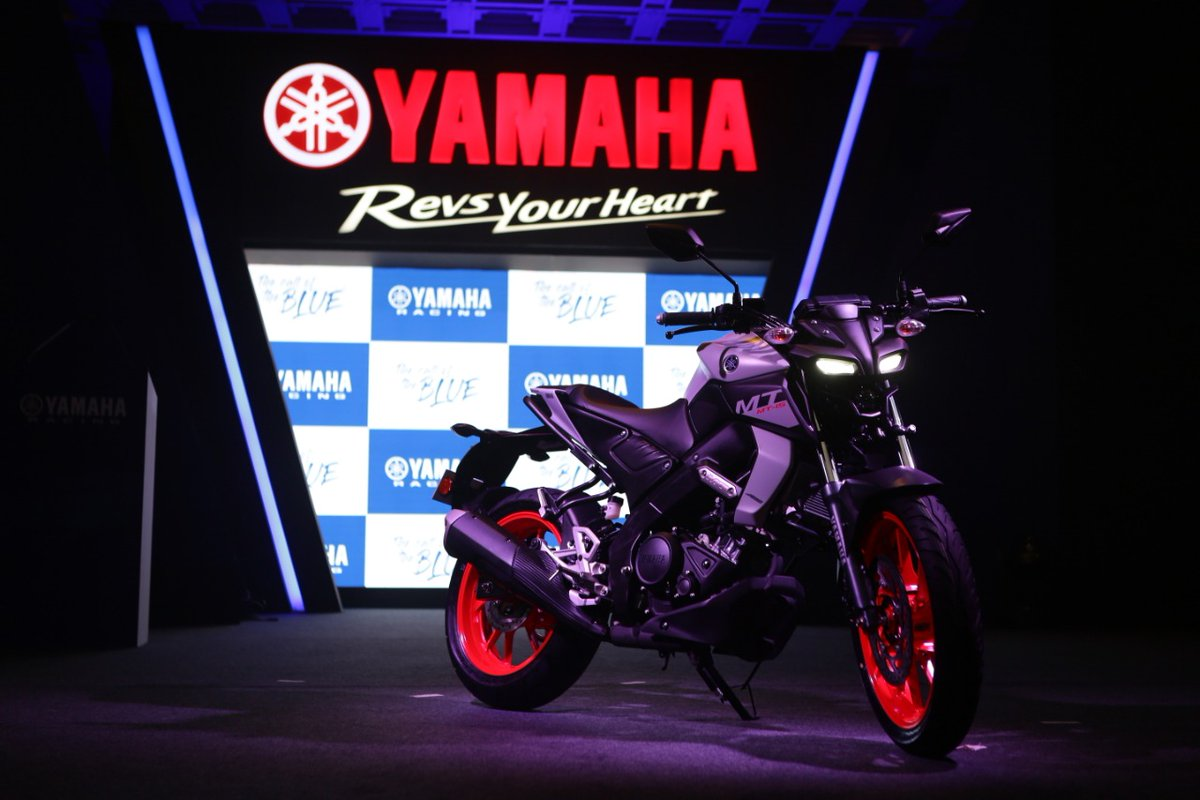 BS-VI Yamaha MT-15