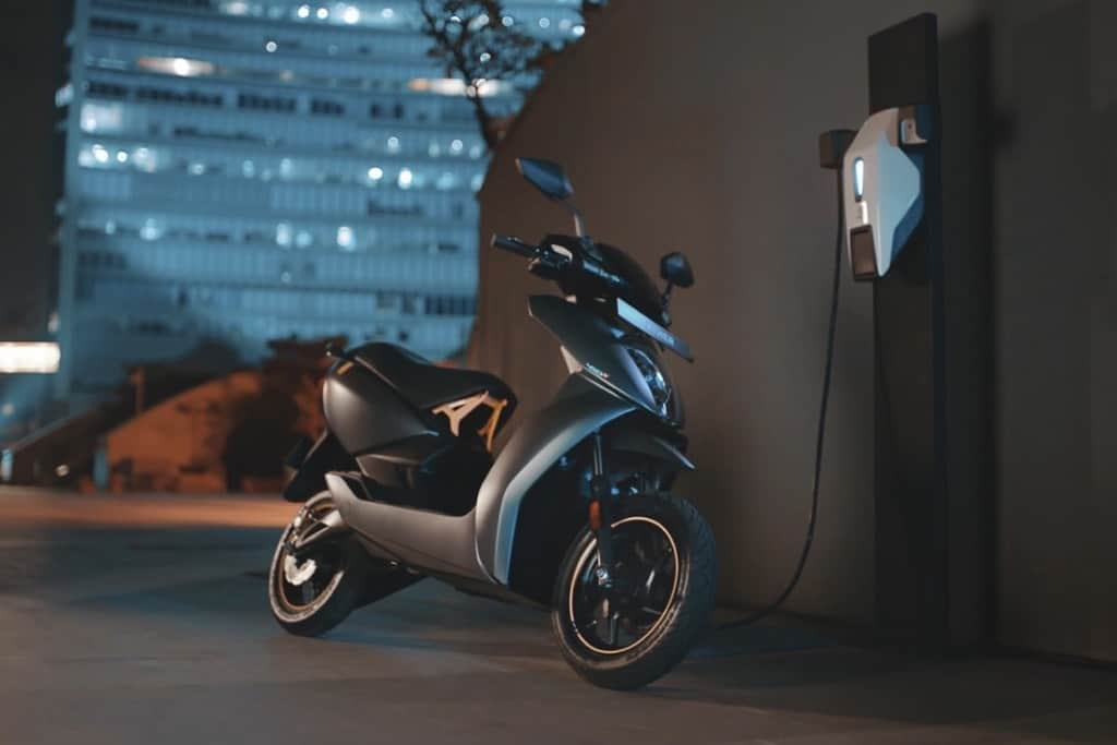 Ather 450X-e scooter