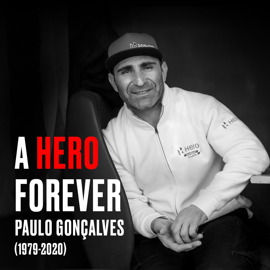 Paulo Goncalves passes away