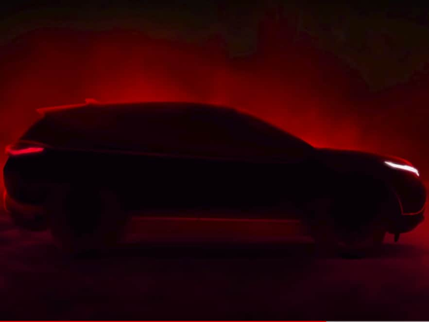 tata harrier bs6 teased