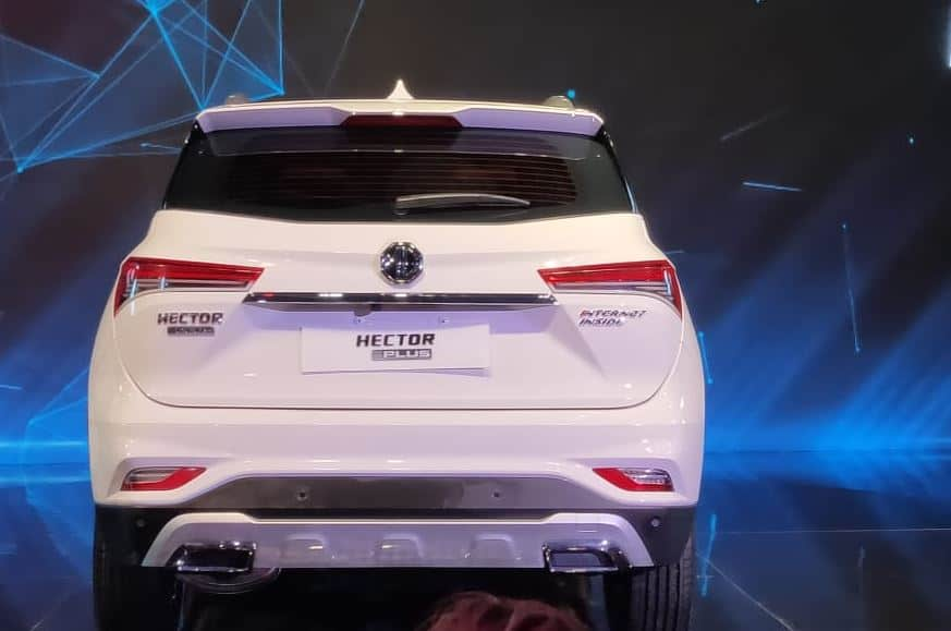 MG Hector plus rear
