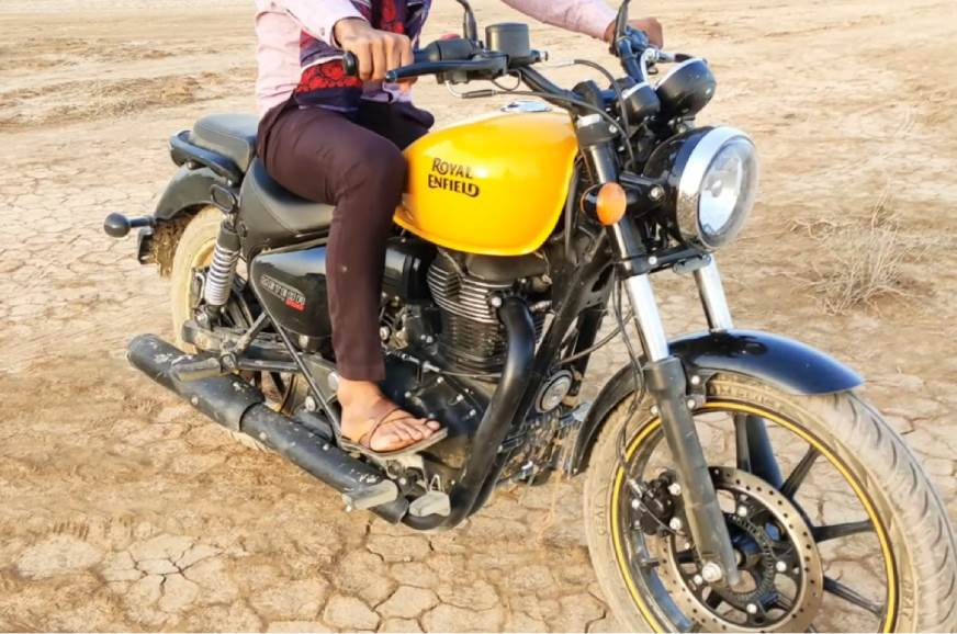 Royal Enfield Meteor 350 spotted