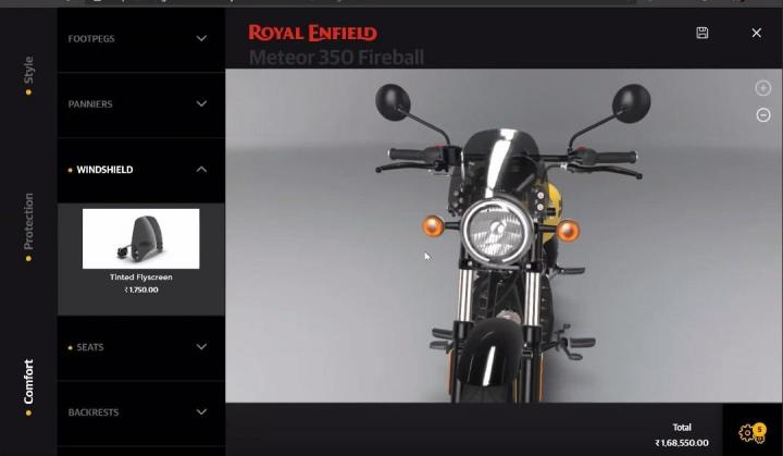 2020 Royal Enfield Meteor 350 fireball