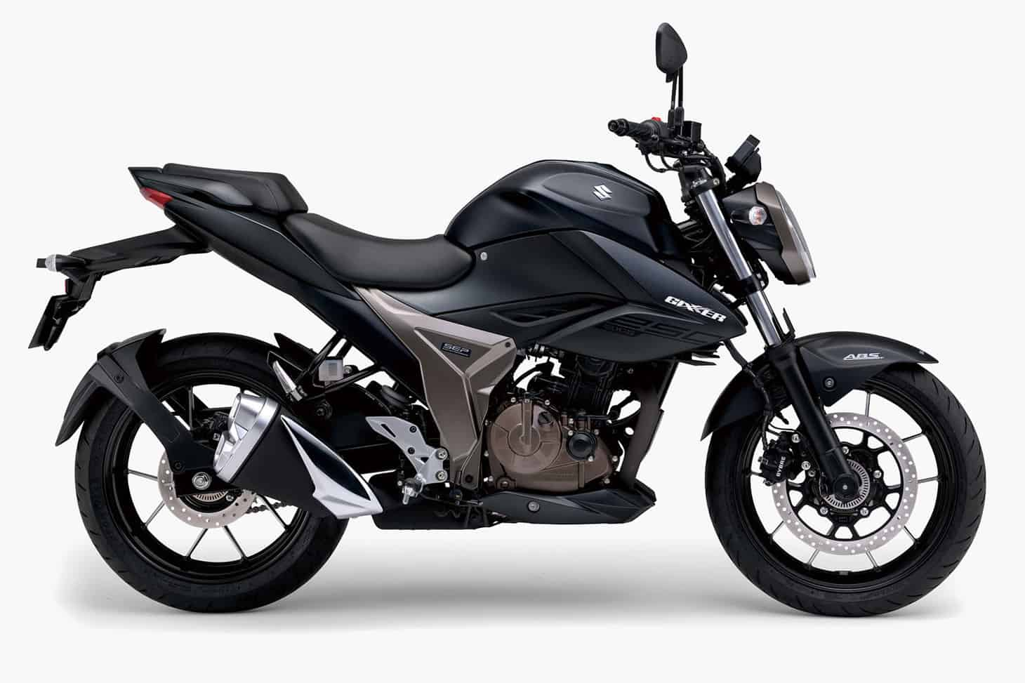 suzuki gixxer 250 bs6 side