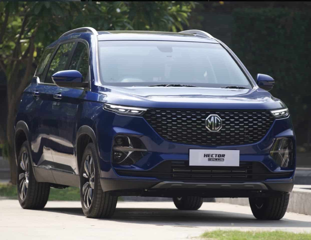 mg hector plus bookings open