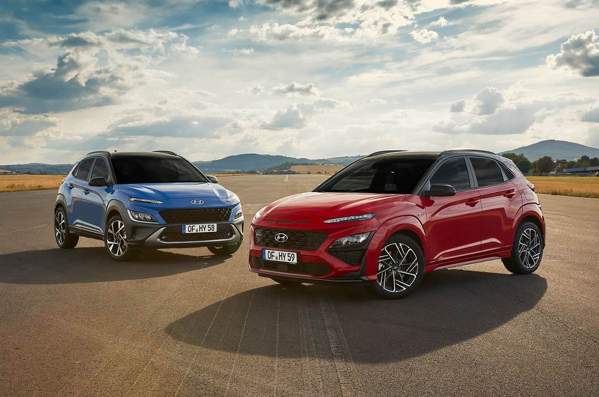 Hyundai Kona Facelift And N Line