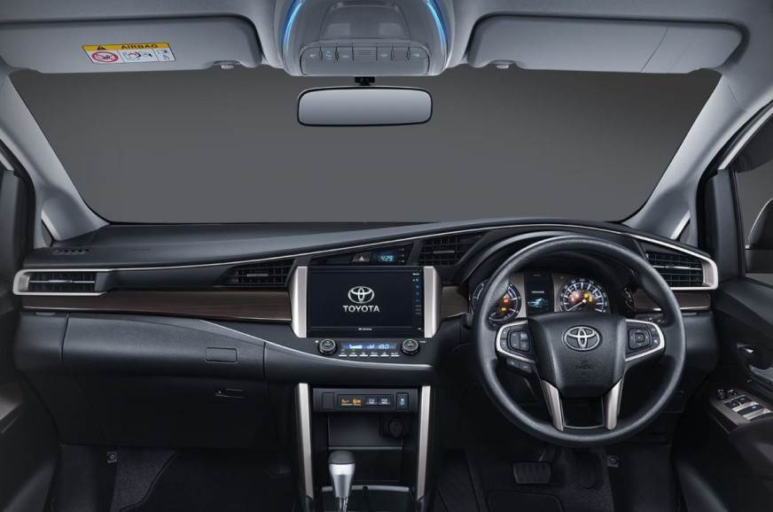2021 Toyota Innova Crysta facelift dashboard