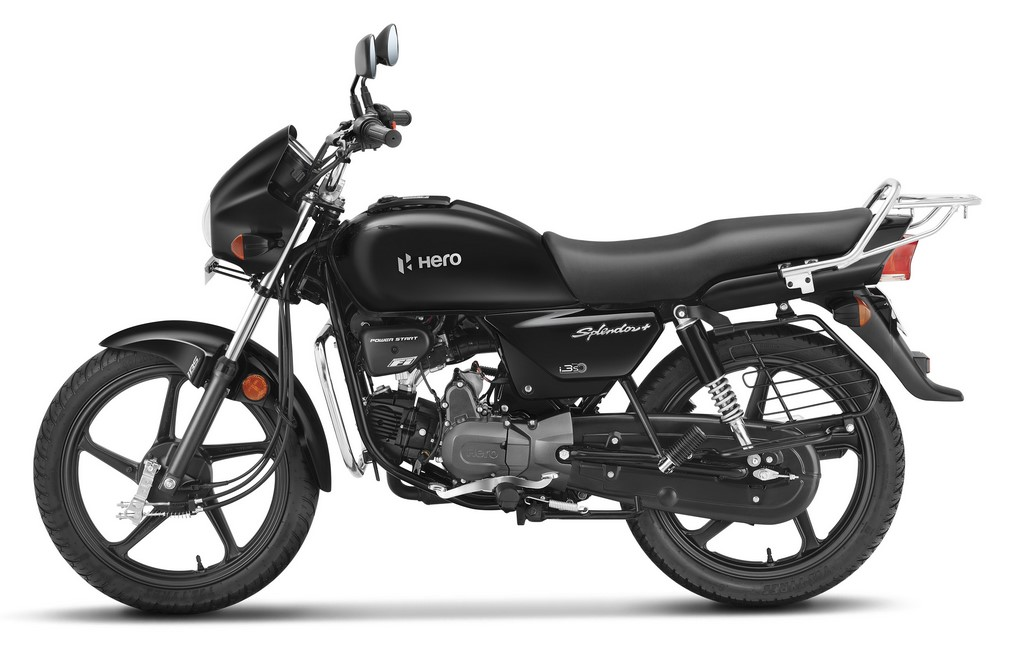 Hero Splendor Black And Accent
