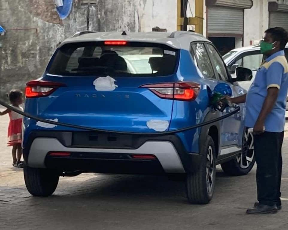 Nissan Magnite rear Spotted