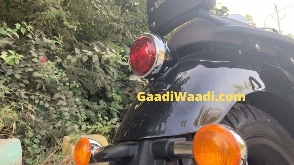 2020 Royal Enfield Meteor spied rear