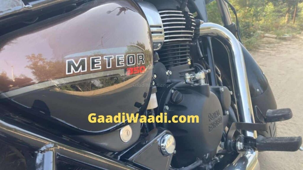 2020 Royal Enfield Meteor spy