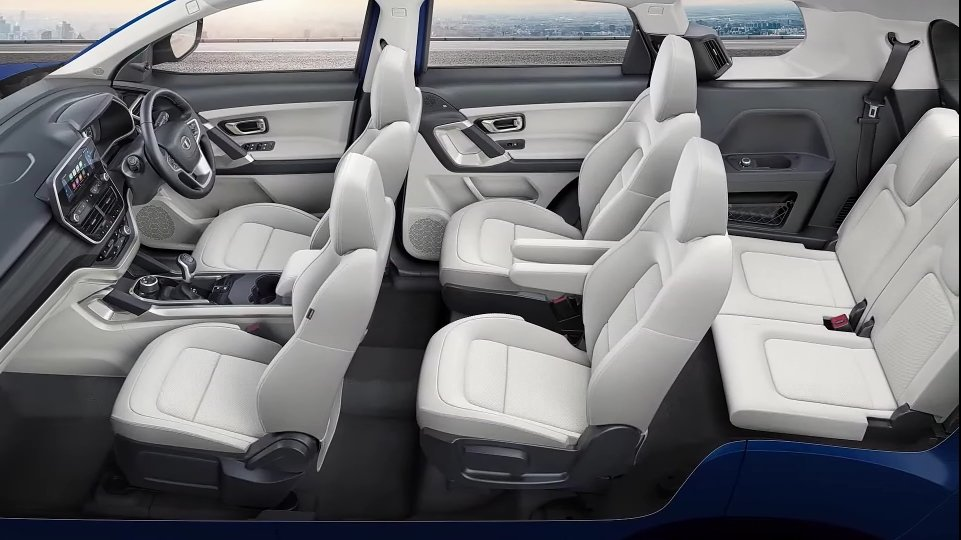 Tata Safari suv interior