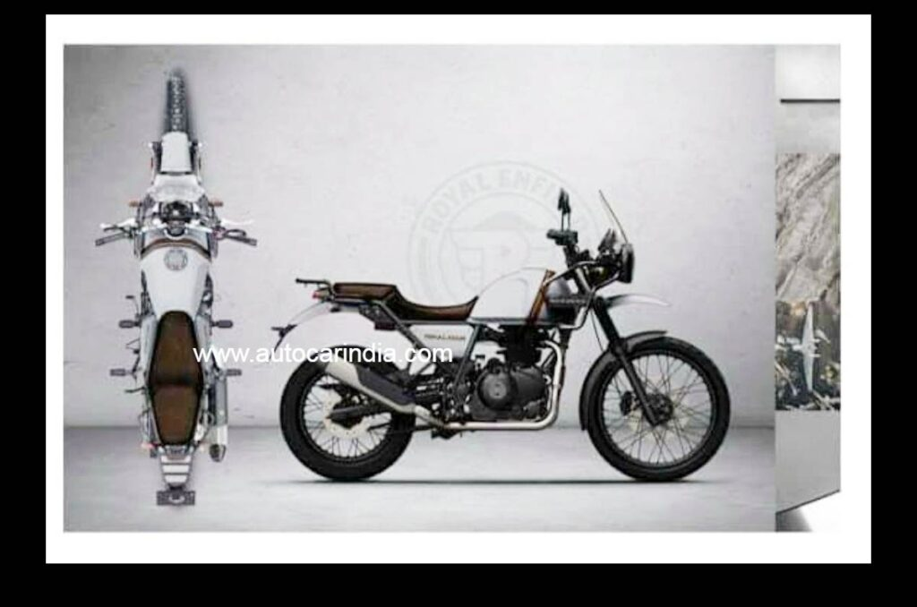Updated Royal Enfield Himalayan soon