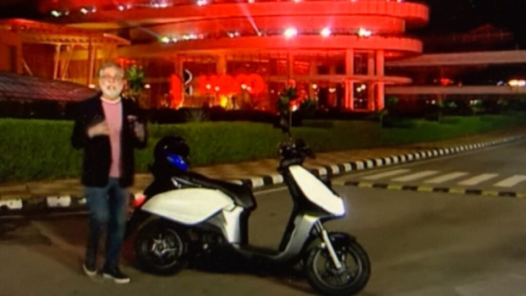 hero motocorp ev scooter spotted